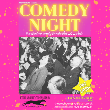 Comedy night Sydenham IG #2